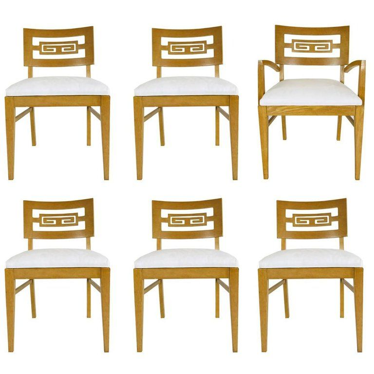 Brilliant Set Of Six 1Stdibs Dining Room Chairs Greek Key Dining Mid Ocoug Best Dining Table And Chair Ideas Images Ocougorg