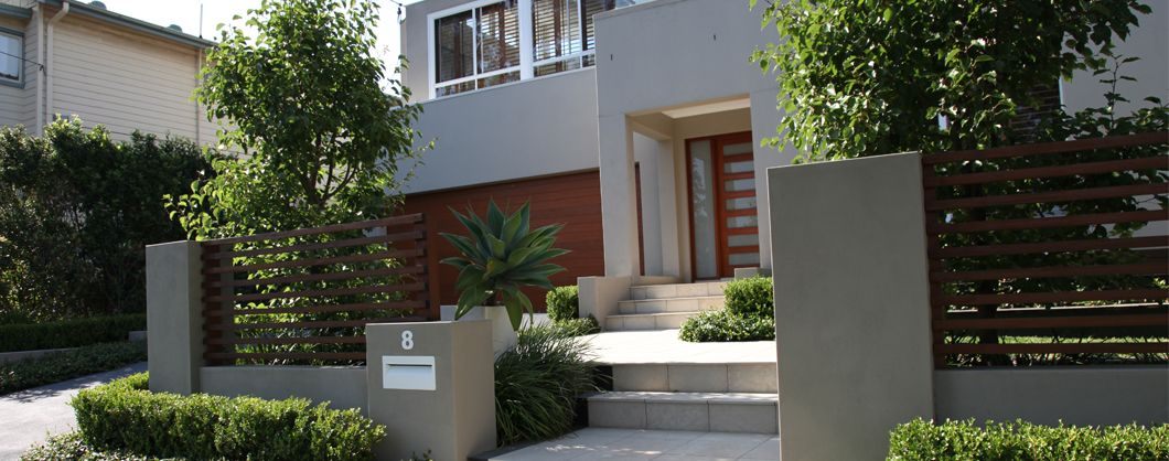 Modern front yard landscaping ideas landscape designer for Australian garden designs pictures