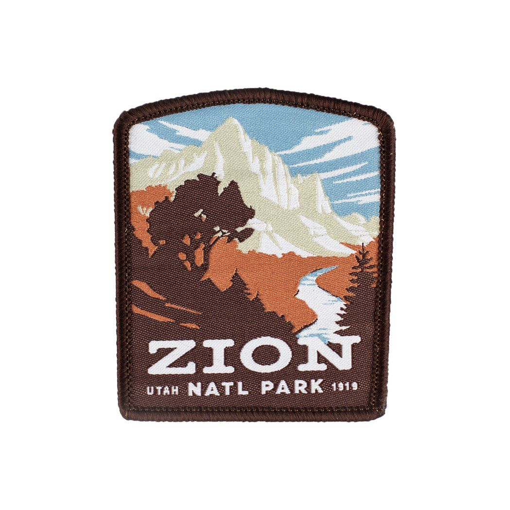 Zion National Park Patch in 2020 National park patches