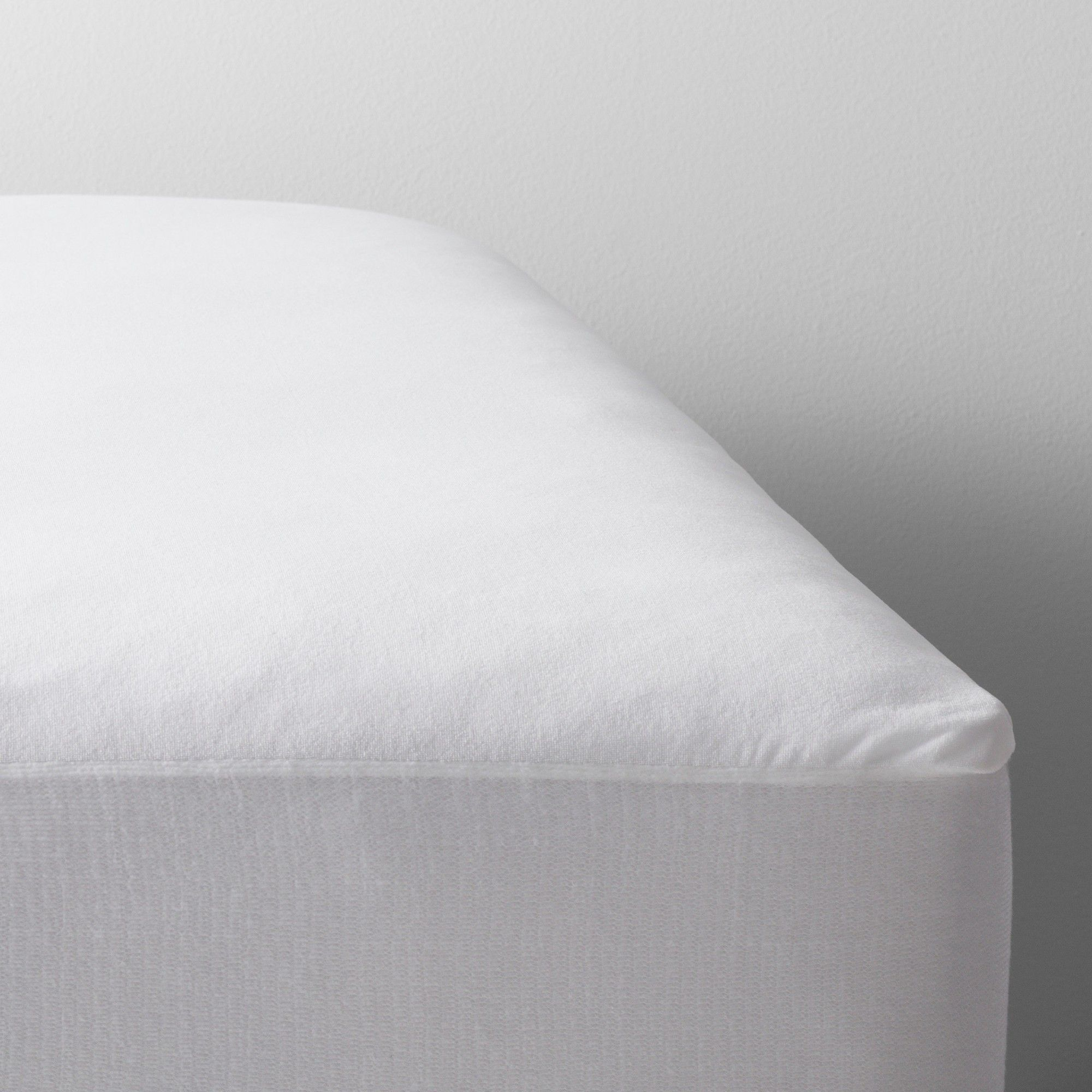 Waterproof Fitted Mattress Protector Twin Extra Large White