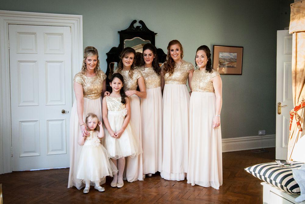 A Glittering Wedding at Ellingham Hall. Image by Focal Point Photography. Read more: http://bridesupnorth.com/2015/02/19/sequins-tulle-mori-lee-opulent-winter-wedding-ellingham-hall-northumberland-caroline-james/