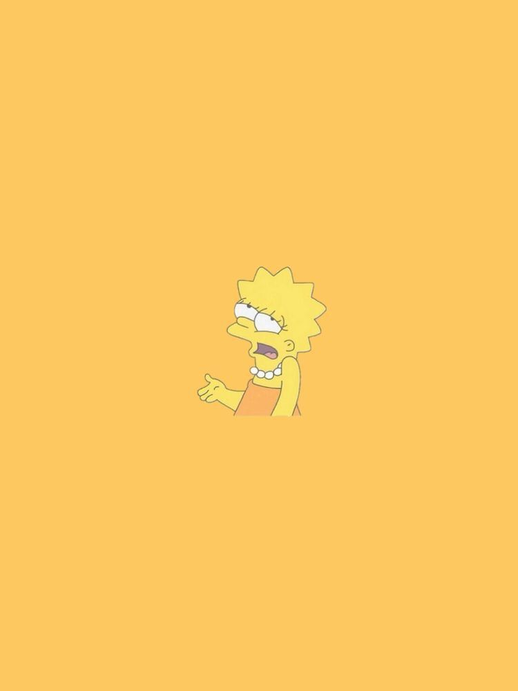 Pin by Perry 🧸💛😊 on Wallpaper ️ Simpson wallpaper iphone