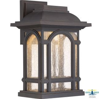 View The Quoizel Catl8409 Cathedral 1 Light 14 Tall Outdoor Wall Sconce With Clear Glass Bronze Outdoor Lighting Outdoor Wall Lantern Led Outdoor Wall Lights