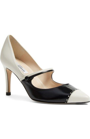L.K. Bennett 'Laylah' Mary Jane Pump (Women) available at #Nordstrom