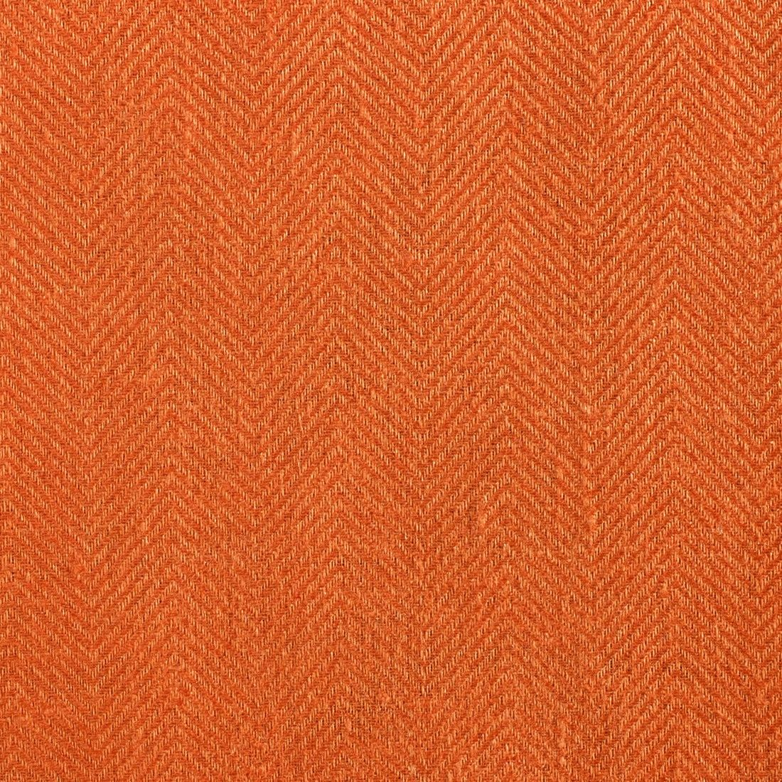 Anichini Fabrics Nobel Linen Herringbone Burnt Orange Residential Fabric An Orange