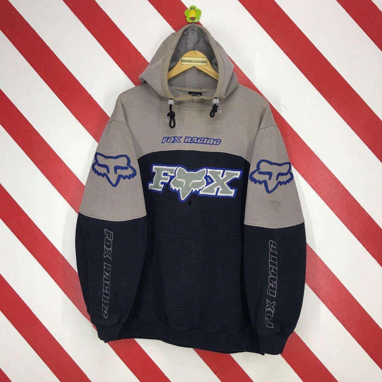 Fox Racing Throwback Mens Sweatshirts Hoody Motocross Pullover Hoodies