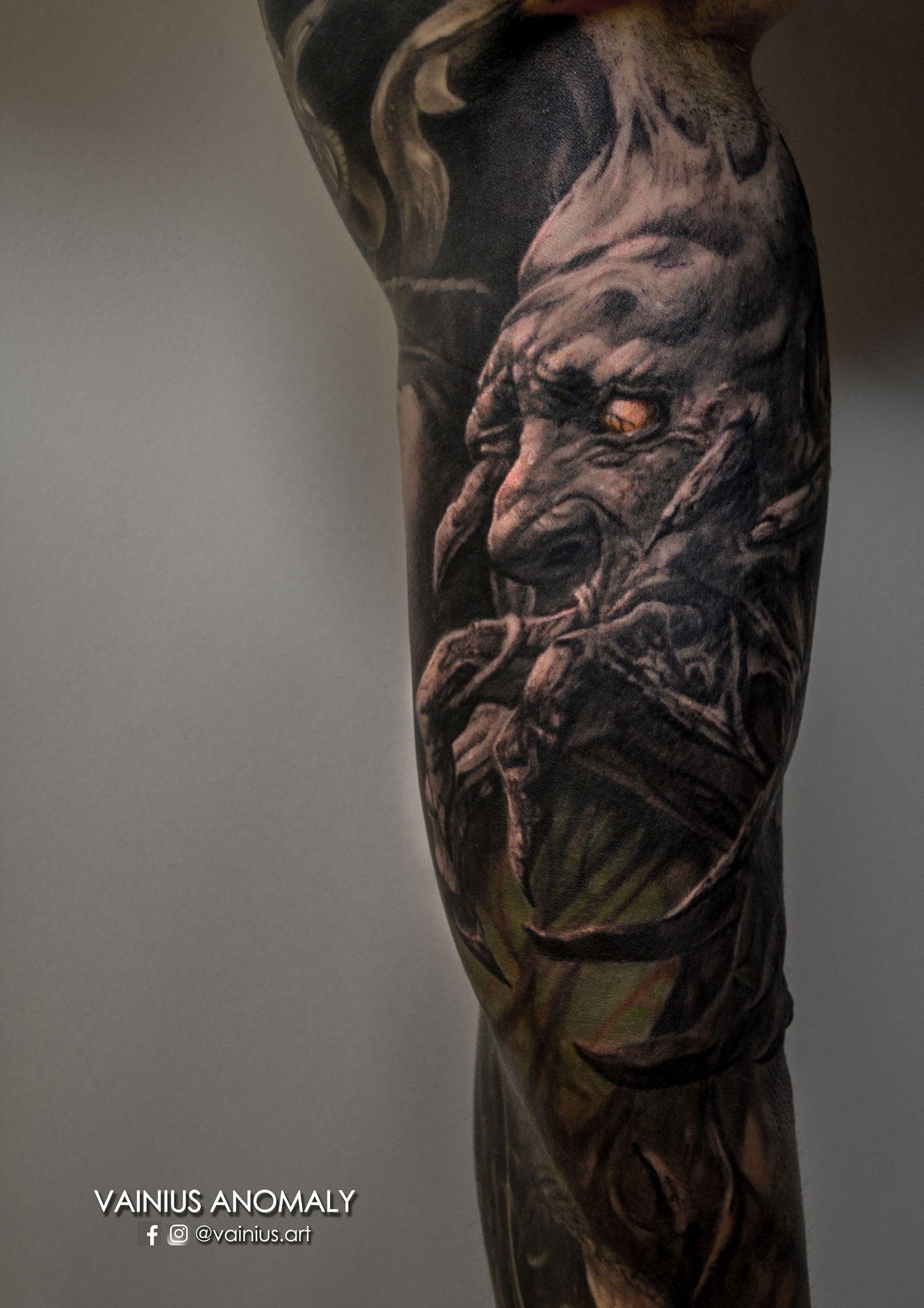 Tattoo by Vainius Anomaly