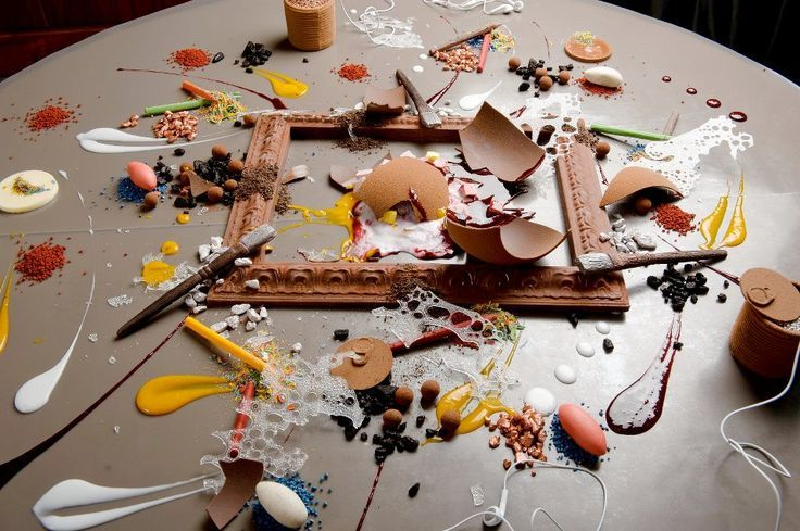 Alinea table top dessert google search make up for ever sweet station food food dishes - Table cuisine alinea ...