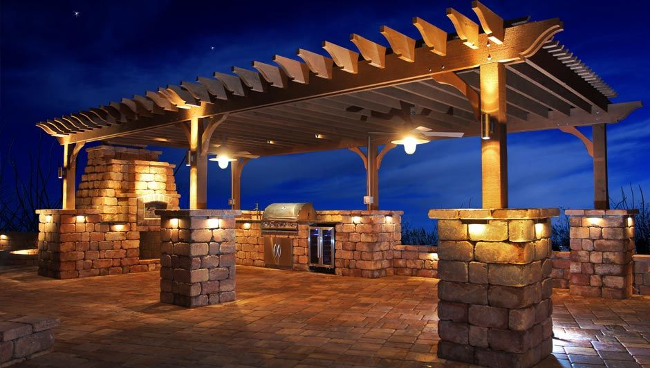 Time For That Backyard You Ve Been Dreaming Of Pergola Lighting Pergola Patio Lighting