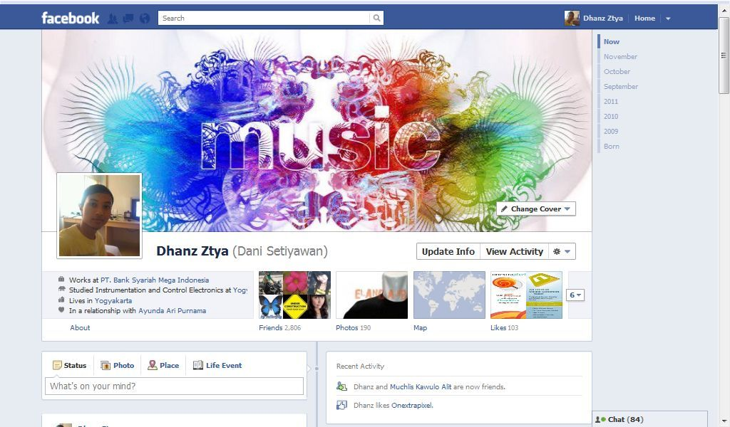 Cara Mengganti Foto Profil Facebook Timeline Dengan Profile Cover Facebook