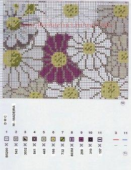 цветочная подушка