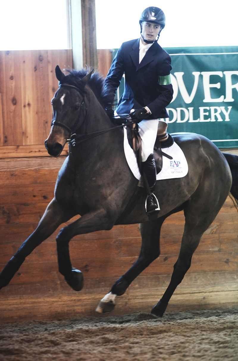 Jacob Pope on Uno  2012 ASPCA Maclay National Championship winner... Gosh I love my sport