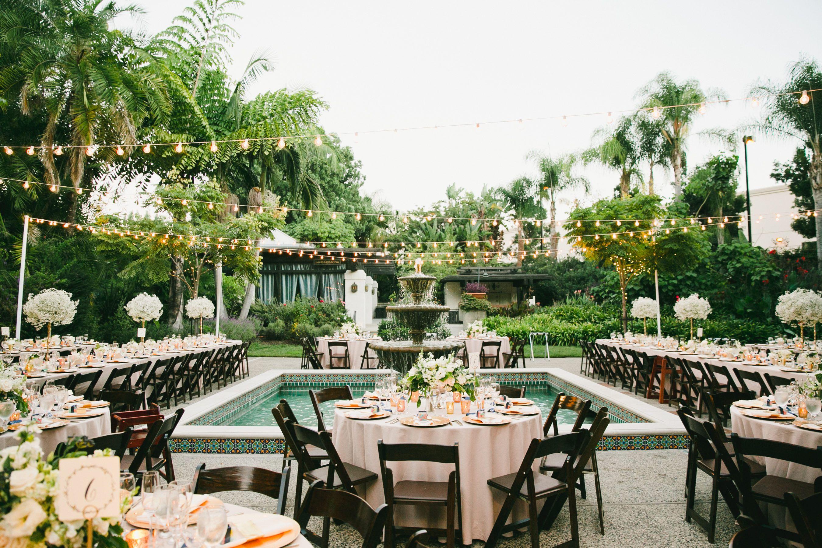Los Angeles Glam Romance Garden Wedding In 2020 Wedding