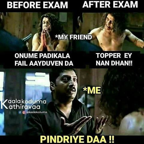 Pin by AnushaA on Mem€s... | Tamil funny memes, Best funny ...