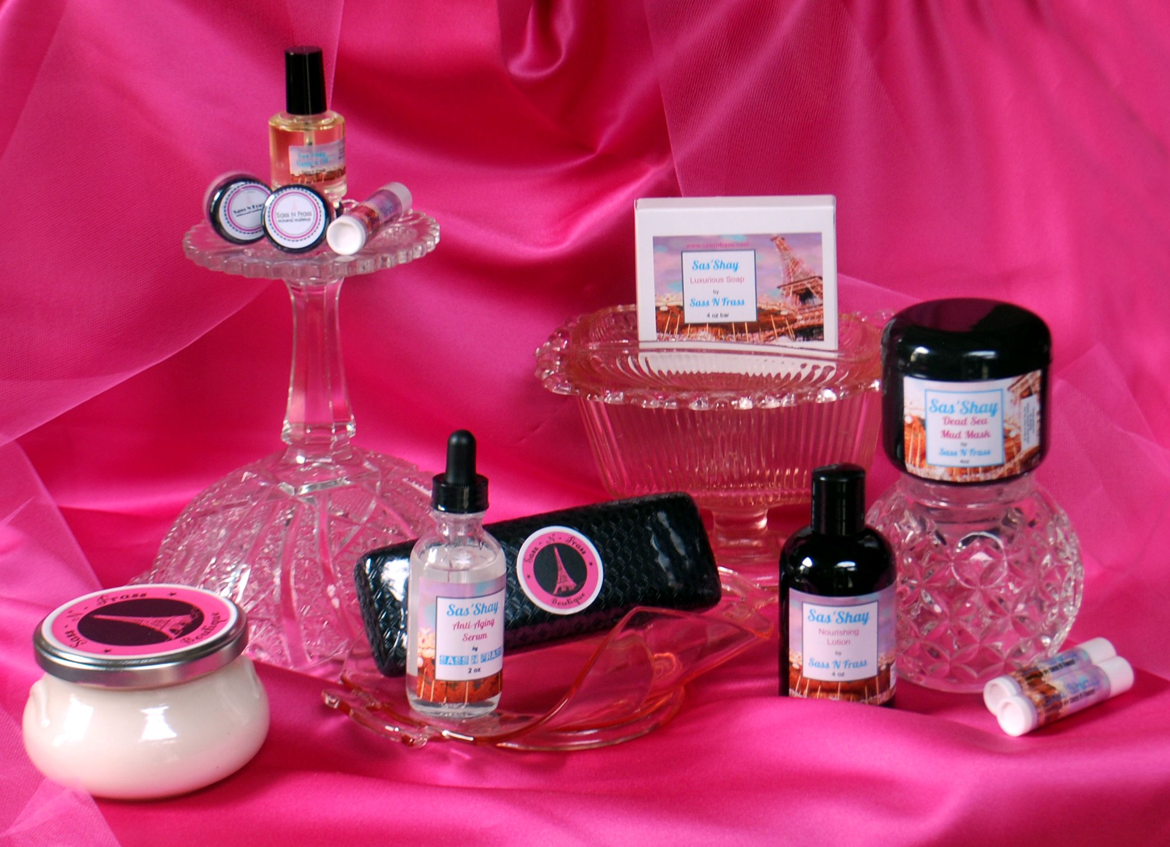 Sas'Shay Essential oil blends, Shay, The balm