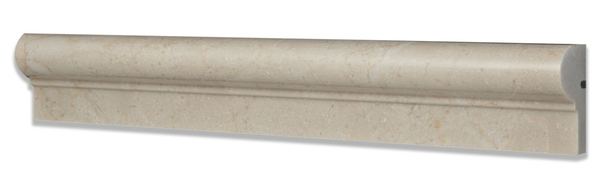 Crema Marfil Marble Polished OG-1 Chair Rail Molding Trim ...
