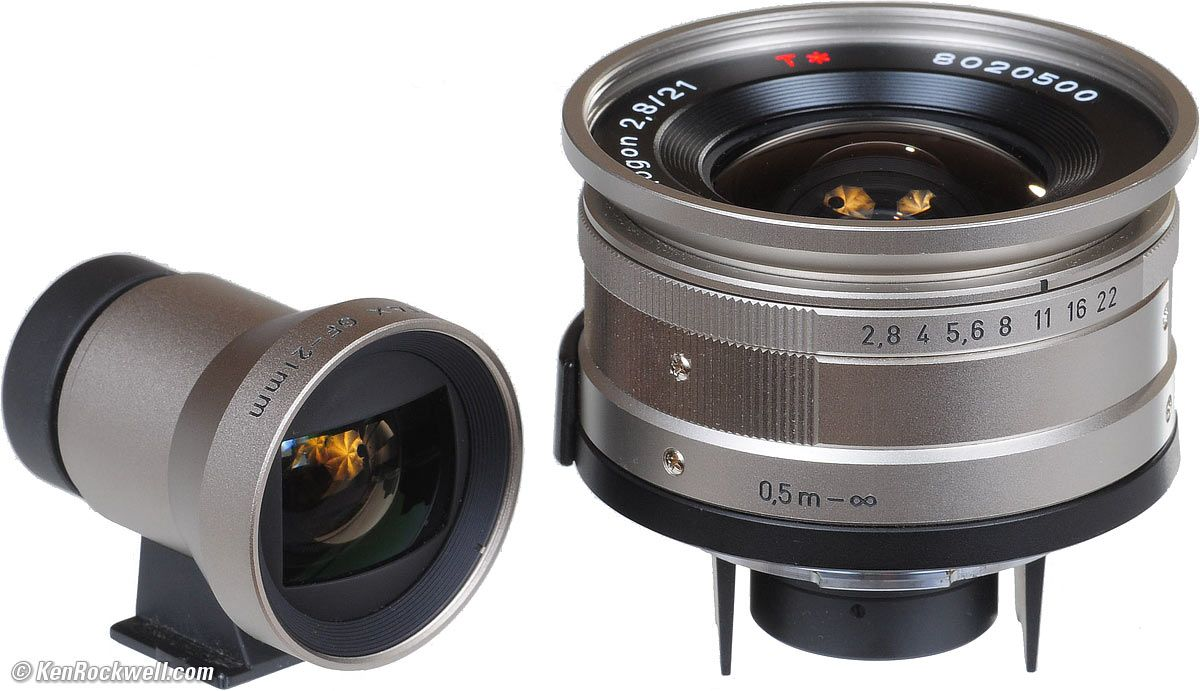 Zeiss 21mm f/2.8 for Contax G