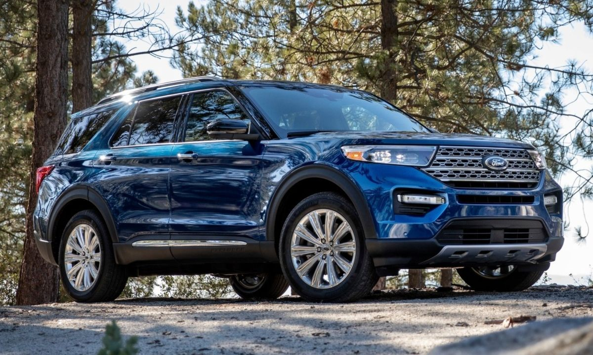 The All New 2020 Ford Explorer Returns To Form By Moving Onto A Rear Wheel Platform It Also Features More Powerfu With Images Ford Explorer 2020 Ford Explorer Ford Focus