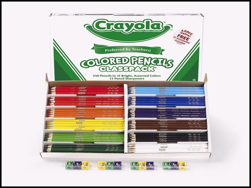 Fresh Crayola Colored Pencils Classpack