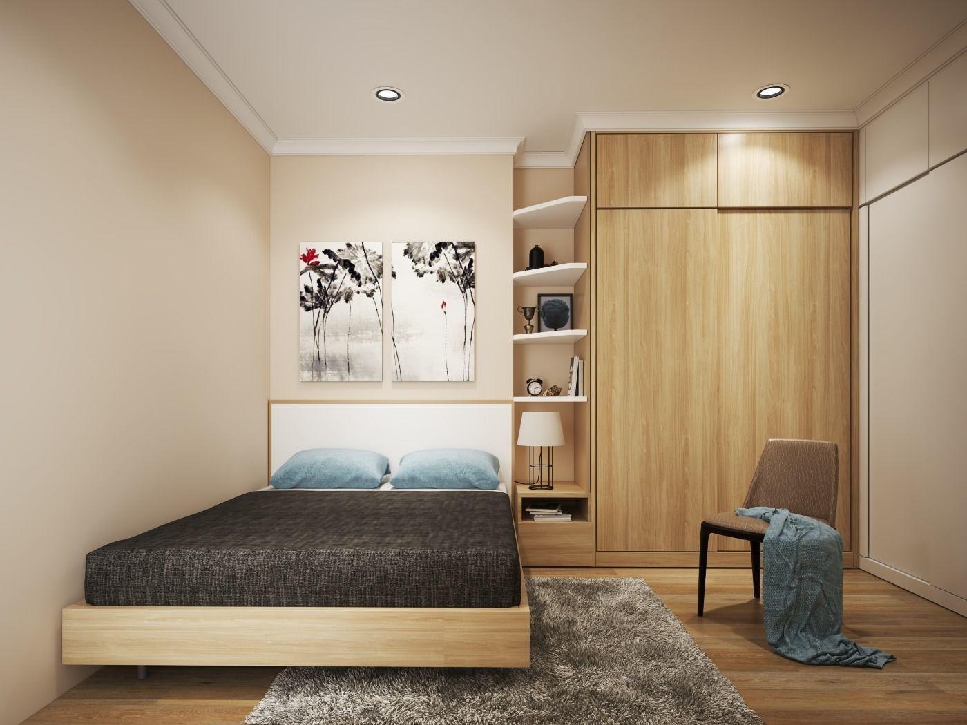 Simple Bedroom Model Interior Design V 3d Max 3ds Fbx Simple Bedroom Interior Design Model Homes