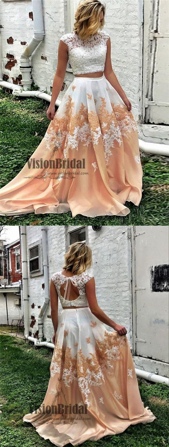 Chic illusion lace top cap sleeves with beaded open back aline