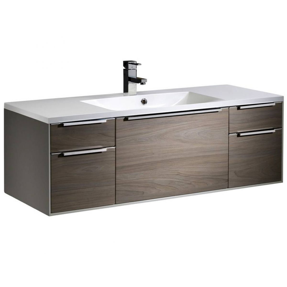Roper Rhodes Vista 1200mm Wall Mounted Unit And Iscocast Basin Bathroom Furniture Modern Wall Mounted Vanity Freestanding Bathroom Furniture