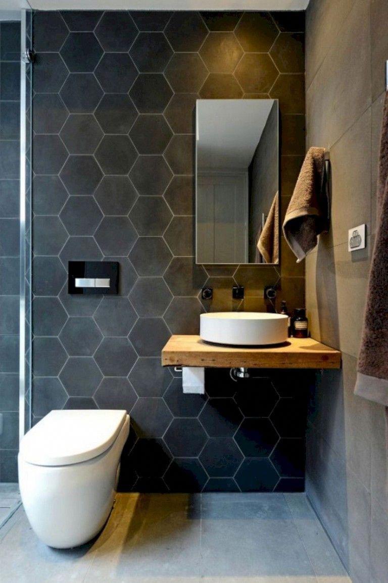 55 Stunning Small Bathroom Remodel Ideas Bathrooms Bathroomremodel Remodelingideas Beautiful Small Bathrooms Small Bathroom Decor Masculine Bathroom Design