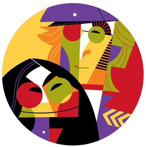 John Lennon & Yoko Ono by Pablo Lobato (BEATLES) http://dunway.us