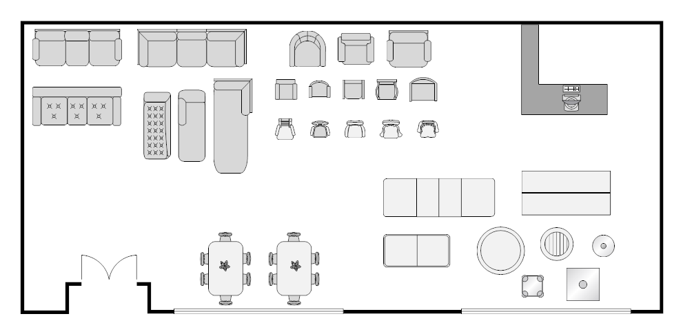 example image furniture store layout store designs