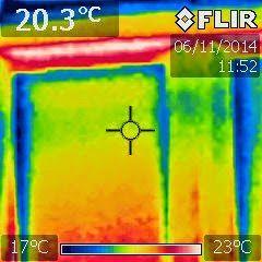 Tijdens de bouwkundige keuring maak ik ook infrarood opnamen. Met deze dure infrarood camera kun je veel bouwkundige gebreken mee opsporen. De infrarood camera is zeer geschikt om in beeld te brengen waar koudebruggen zijn. Of anders gezegd waar grote warmteverliezen zijn. De huizendokter biedt zoveel MEER en geeft u dus ook echt waar voor uw geld.