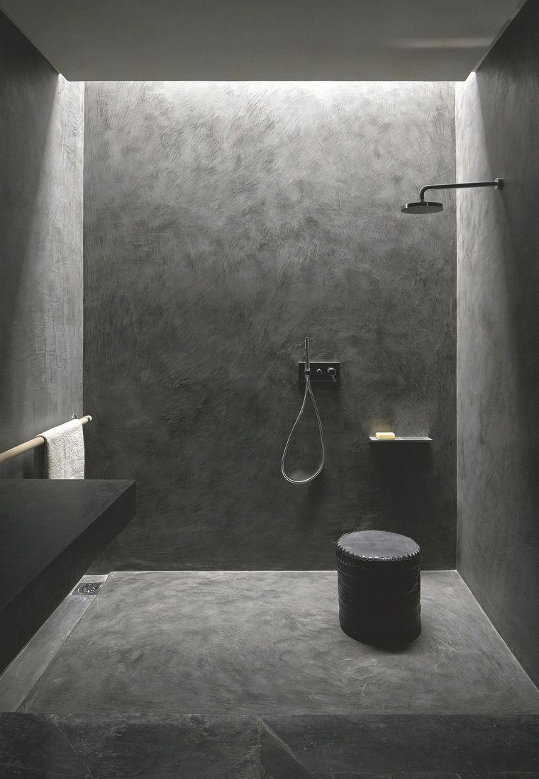Rénovation salle de bain douche sans joint et sans carrelage