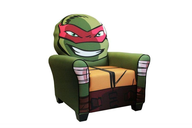 Teenage Mutant Ninja Turtles Upholstered Chair   Ninja Turtle Gear ...