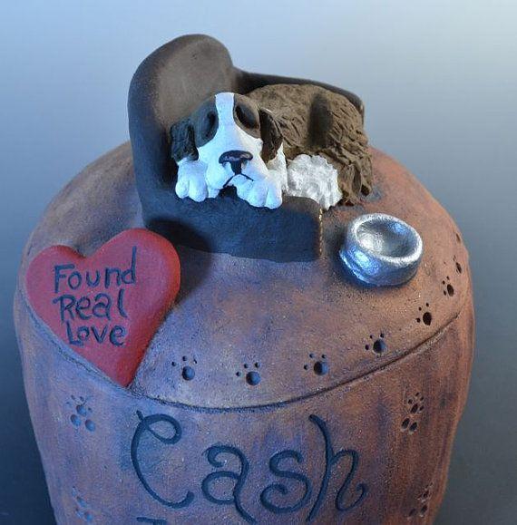 Urnas de perro o Pet urnas perro urnas por MonsterHollowStudios
