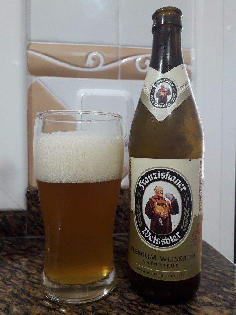 Franziskaner Weissbier Es Una Cerveza Rubia Elaborada En Munich