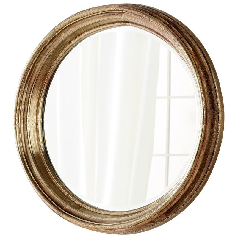 Cyan Design Mint Mirror 7 Inch Diameter Mint Wood Mirror ...