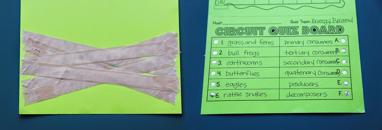 Electrical Circuit Game Show Lesson Circuits Kids Work And Teacher