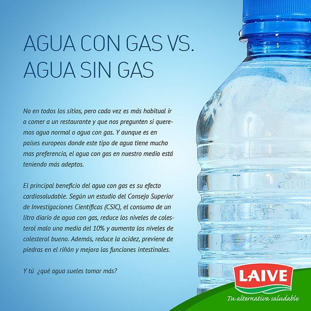 beneficios y propiedades del agua con gas