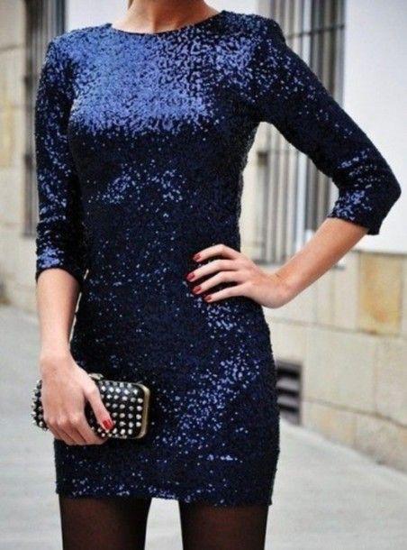 Cute sequin dress | Club Attire | Pinterest