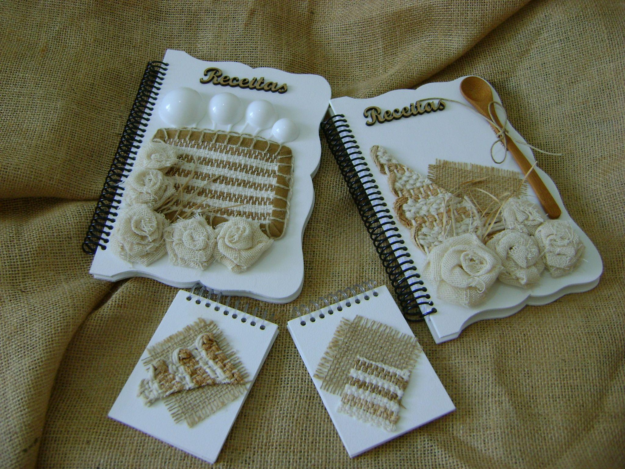 Caderno de receita e anotaçoes