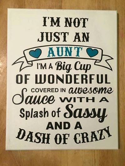 Becoming an aunt is a great and adventurous step. Here are ...