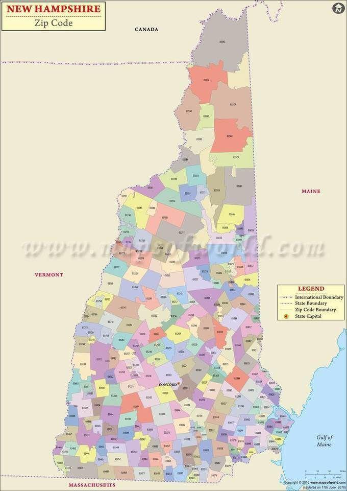 zip code map of maine New Hampshire Zip Code Map New Hampshire Postal Code Zip Code zip code map of maine