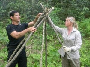 How To Build A Shelter Using Natural Resources | Wilderness Survival Shelters by…