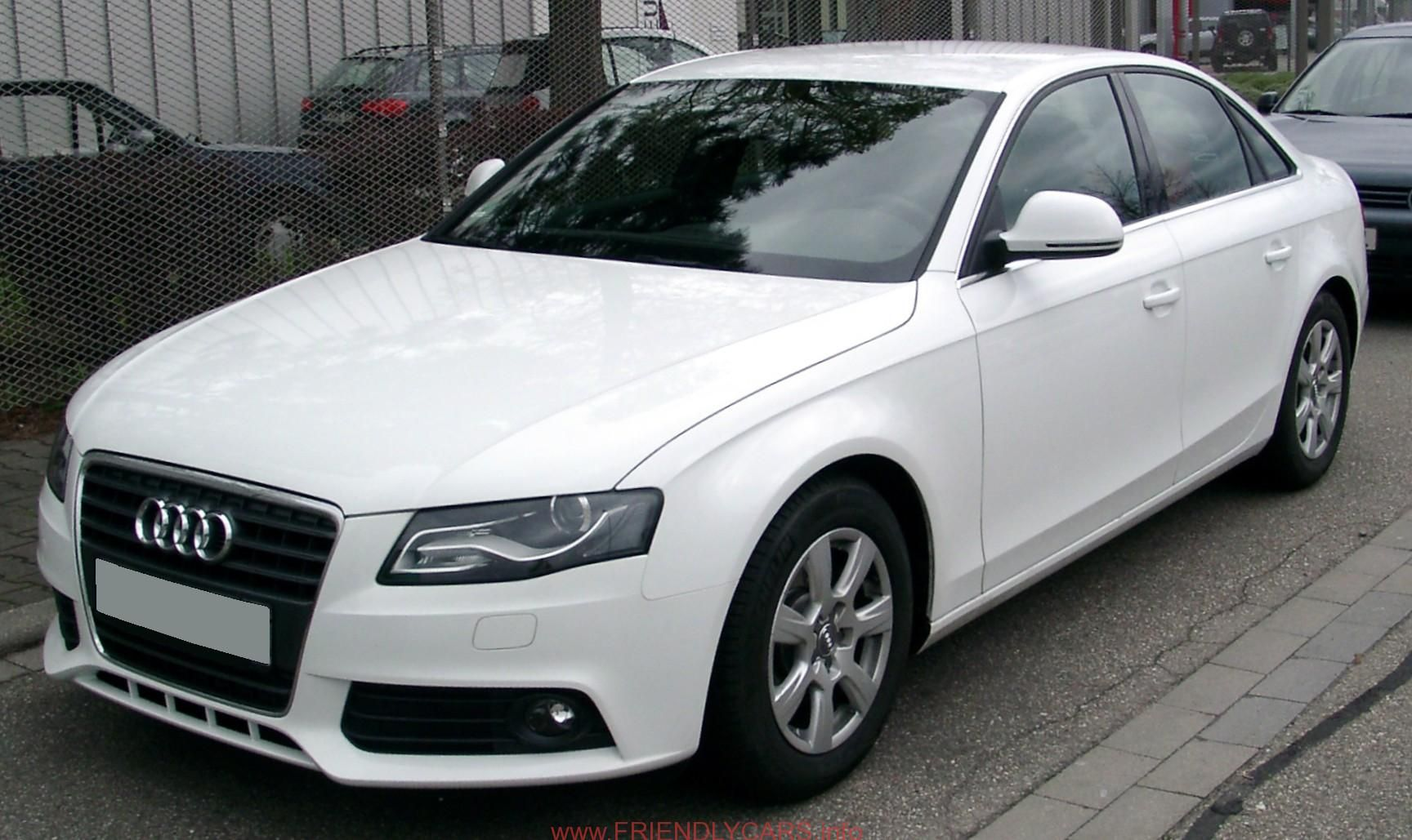 nice audi a4 2004 blacked out car images hd Audi A4 2004