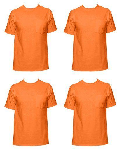 16bbe4f3734 Fruit of the Loom Men s 4-Pack Pocket Crew Neck T-Shirt