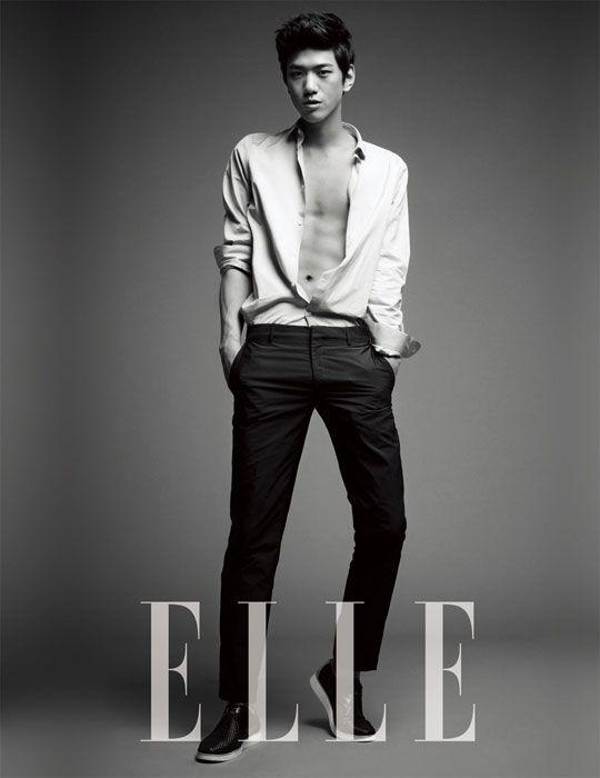 Sung Joon in Elle Korea July 2012