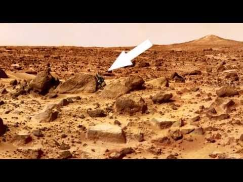 Another Proof of Alien Life on Mars - NASA Rover Curiosity Vehicle Foota...