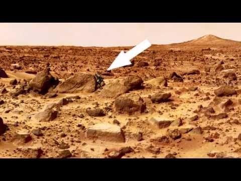 Another Proof of Alien Life on Mars - NASA Rover Curiosity Vehicle Foota...