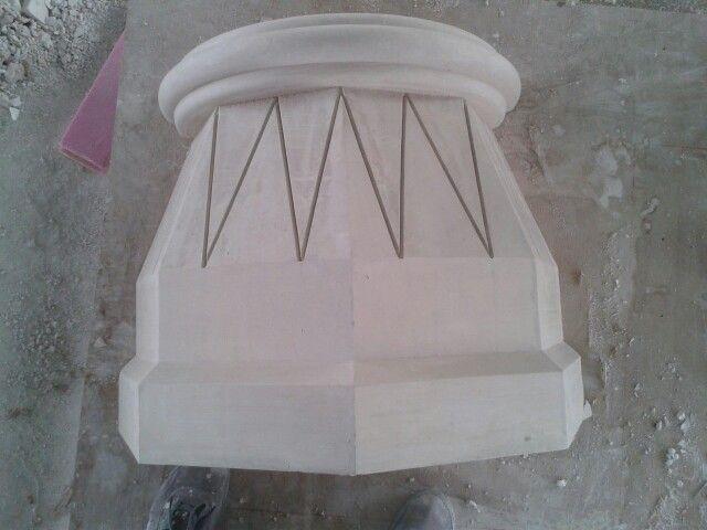 قاعدة عمود جبس Cake Stand Handmade Cake