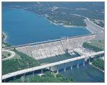 water_mansfield dam Lake Travis