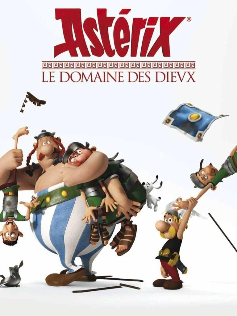 Astérix Et Obélix Et Le Domaine Des Dieux : astérix, obélix, domaine, dieux, Stéphane, Boudsocq, Twitter, Animated, Movies,, Comics,, Animation